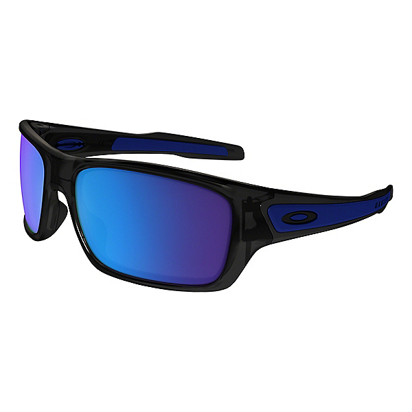 Oakley Turbine S Sunglasses - Black Ink w- Sapphire Iridium, Black Ink w- Sapphire Iridium, 600