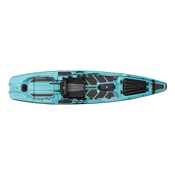 Bonafide SS127 Sit on Top Fishing Kayak, Endless Summer Aqua, 600