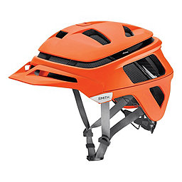 Smith Forefront Bike Helmet, Matte Neon Orange, 256