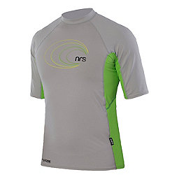 NRS H2Core Rashguard SS Shirt, Light Gray-Green, 256