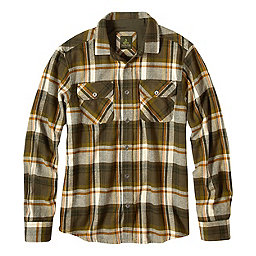 prAna Lybeck Flannel Shirt, Cargo Green, 256