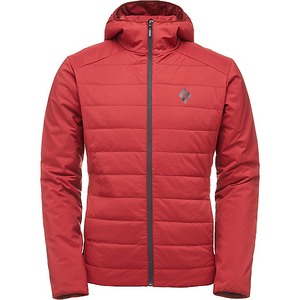 Black Diamond First Light Hoody - LG/Red Oxide, Red Oxide, 600