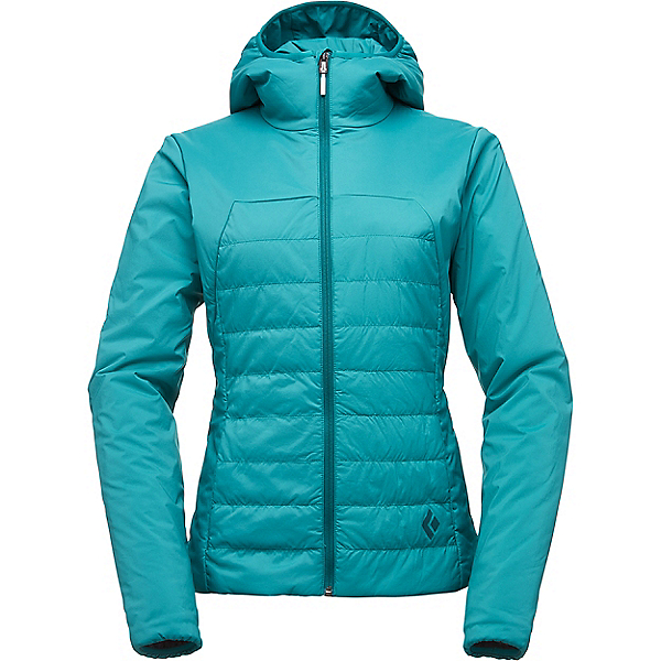 Black Diamond First Light Hoody Women's - XL/Evergreen, Evergreen, 600