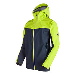 Mammut Crater HS Hooded Jacket, Marine-Sprout, 256