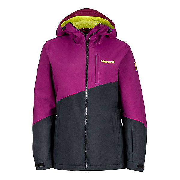 Marmot Rumba Jacket Women's, Deep Plum-Black, 600