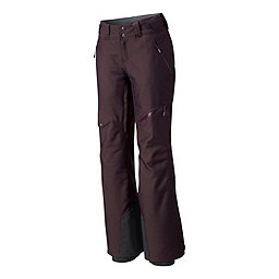 Mountain Hardwear Chute Insulated Pant Women's, Dark Tannin Twill, 256
