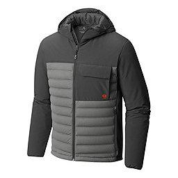 Mountain Hardwear StretchDown HD Hooded Jacket, Manta Grey-Shark, 256