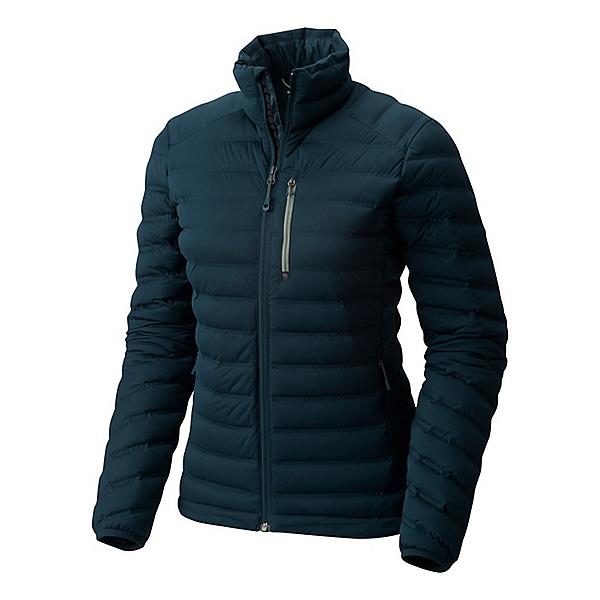 Mountain Hardwear StretchDown Jacket Women's - LG/Blue Spruce, Blue Spruce, 600