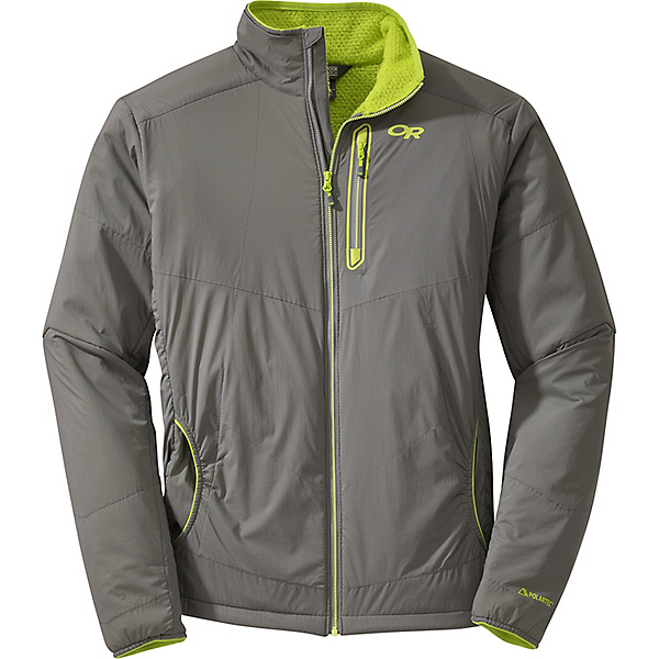 Outdoor Research Ascendant Jacket - LG/Pewter-Lemongrass, Pewter-Lemongrass, 600