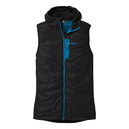 Outdoor Research Deviator Hooded Vest, Black-Tahoe, 256