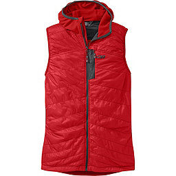 Outdoor Research Deviator Hooded Vest, Hot Sauce-Charcoal, 256