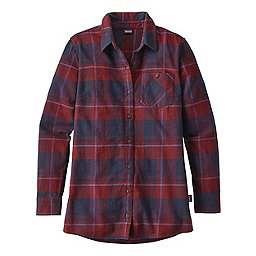 Patagonia Aspen Forest Tunic Women's, Wind Weaver Plaid Drumfire Red, 256