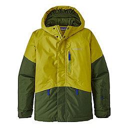 Patagonia Boys Fresh Tracks Jacket, Fluid Green, 256