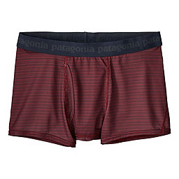 Patagonia Cap Daily Boxer Briefs, Longcast Drumfire Red, 256