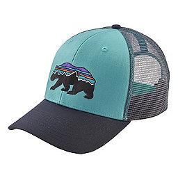 Patagonia Fitz Roy Bear Trucker Hat, Crevasse Blue, 256