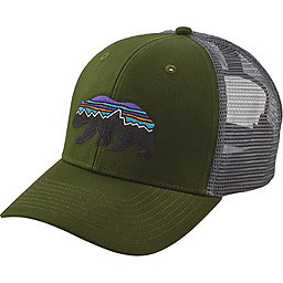 Patagonia Fitz Roy Bear Trucker Hat, Glades Green, 256