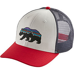 Patagonia Fitz Roy Bear Trucker Hat, White, 256