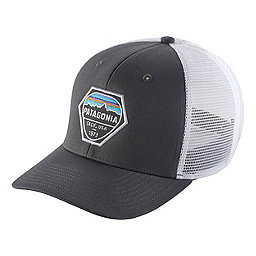 Patagonia Fitz Roy Hex Trucker Hat, Forge Grey, 256