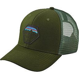 Patagonia Fitz Roy Hex Trucker Hat, Glades Green, 256
