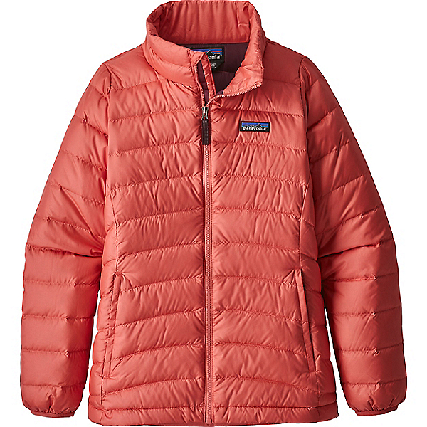 Patagonia Girls Down Sweater - LG/Spiced Coral, Spiced Coral, 600