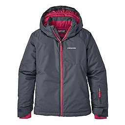 Patagonia Girls Snowbelle Jacket, Smolder Blue, 256