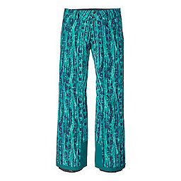 Patagonia Insulated Snowbelle Pant R Women's, Go With The Flow Elwha Blue, 256