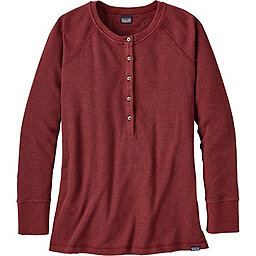Patagonia Waffle Henley Women's, Drumfire Red, 256