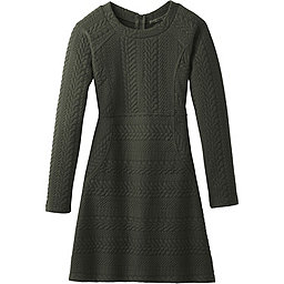 prAna Macee Dress Women's, Dark Olive Heather, 256