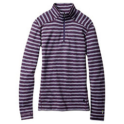 Smartwool Merino 250 Pattern 1/4 Zip Women's, Mountain Purple-Blue Ice, 256