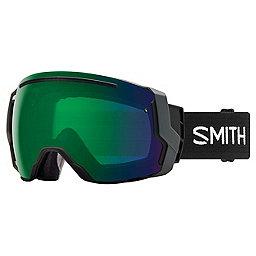 Smith I/O 7, Black-Chromapop Green Mirror, 256