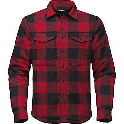 The North Face Campground Sherpa Shirt, Rage Red Plaid, 256