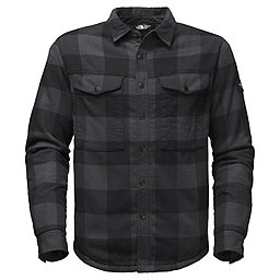 The North Face Campground Sherpa Shirt, Asphalt Grey Plaid, 256