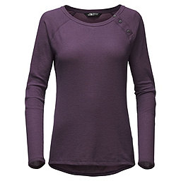 The North Face LS Campground Knit Top Women's, Dark Eggplant Purple, 256