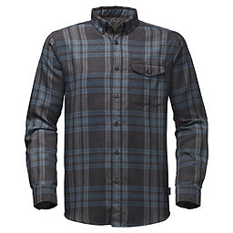The North Face LS Thermocore Shirt, Asphalt Grey Plaid, 256
