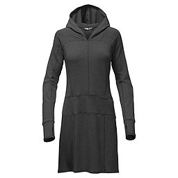 The North Face LS Tnf Terry Dress Women's, TNF Dark Grey Heather, 256