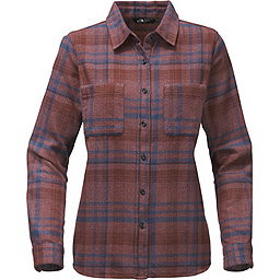 The North Face LS Willow Creek Flannel Women's, Sequoia Red Plaid, 256