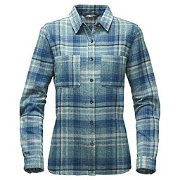 The North Face LS Willow Creek Flannel Women's, Egyptian Blue Plaid, 256