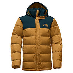 The North Face Nuptse Ridge Parka, Golden Brown-Kodiak Blue, 256