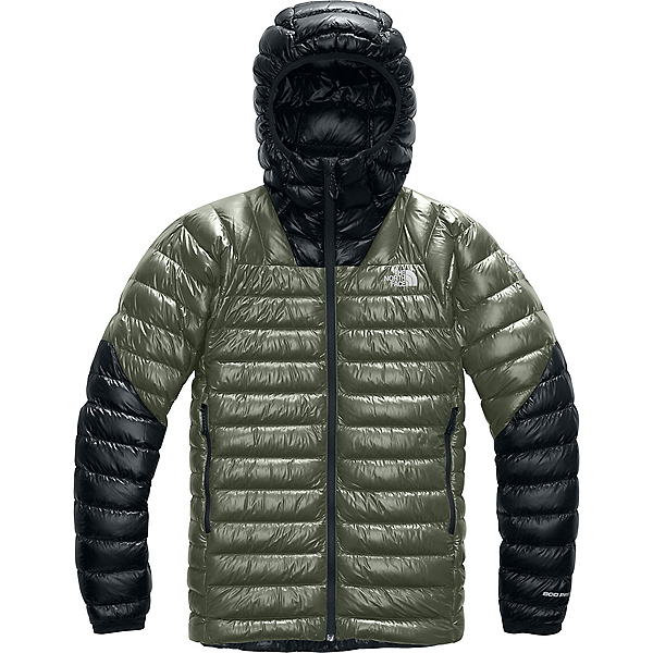 The North Face Summit L3 Down Hoodie - XL/New Taupe Green-TNF Black, New Taupe Green-TNF Black, 600