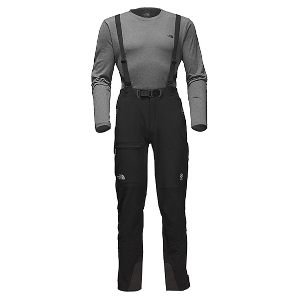The North Face Summit L4 Softshell Pant - LG/TNF Black-TNF Black, TNF Black-TNF Black, 600
