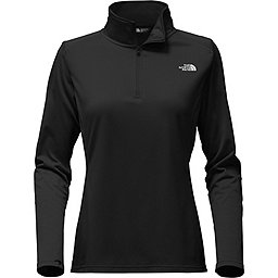 The North Face Tech Glacier 1/4 Zip Women's, TNF Black, 256