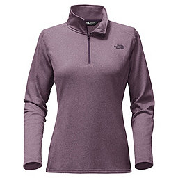 The North Face Tech Glacier 1/4 Zip Women's, Black Plum Heather, 256