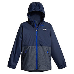 The North Face Warm Storm Jacket Boys, Cosmic Blue, 256