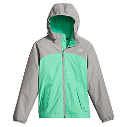 The North Face Warm Storm Jacket Girls, Bermuda Green, 256