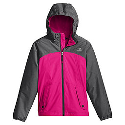 The North Face Warm Storm Jacket Girls, Petticoat Pink, 256