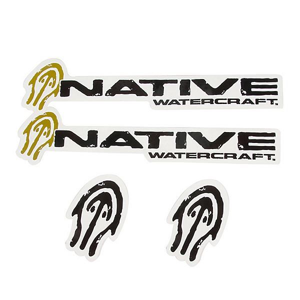 Native Watercraft Sticker Pack, , 600