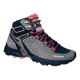 Salewa Alpenrose Ultra Mid GTX Women's, Night Black-Mineral Red, 256