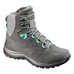 Salomon Ellipse Winter GTX Women's, Castor Gry-Beluga-Biscay Green, 256