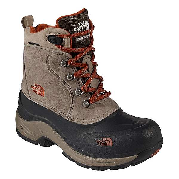 The North Face Chilkat Lace 2 Youth - 13/Mud Pack Brown-Sienna Orange, Mud Pack Brown-Sienna Orange, 600