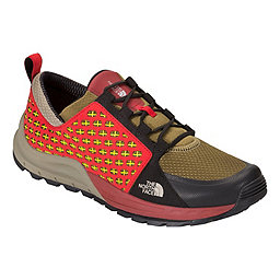 The North Face Mountain Sneaker, Fir Green-Rudy Red, 256